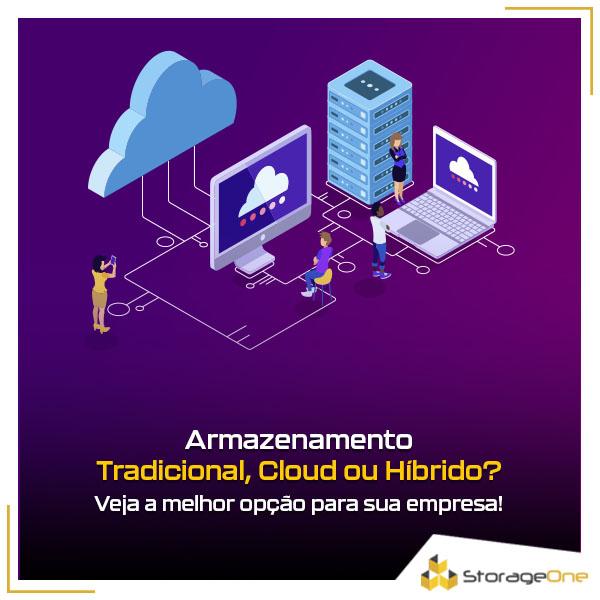 Armazenamento tradicional, cloud ou híbrido: qual a melhor solução para seu negócio?